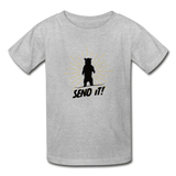 Send It! - Ultra Cotton Youth T-Shirt - heather gray