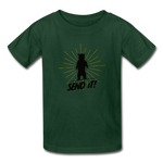 Send It! - Ultra Cotton Youth T-Shirt - forest green