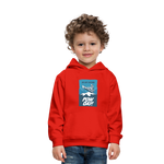 Pow Day - Kids' Premium Hoodie - red