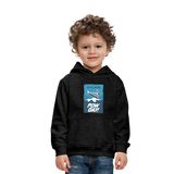 Pow Day - Kids' Premium Hoodie - charcoal gray