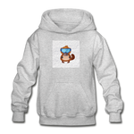 Snow Platypus -  Heavy Blend Youth Hoodie - heather gray