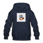 Snow Platypus -  Heavy Blend Youth Hoodie - navy