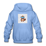 Snow Platypus -  Heavy Blend Youth Hoodie - carolina blue