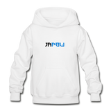 JaPow - Heavy Blend Youth Hoodie - white