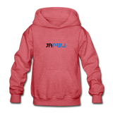 JaPow - Heavy Blend Youth Hoodie - heather red
