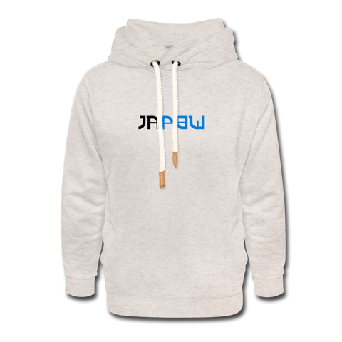 JaPow - Unisex Shawl Collar Hoodie - heather oatmeal