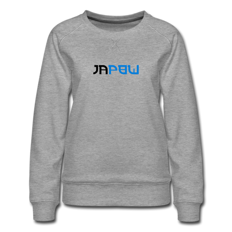 Japow - Women's Premium Sweatshirt - heather gray