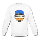 Colorado Is Calling - Crewneck Sweatshirt - white