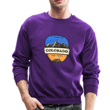 Colorado Is Calling - Crewneck Sweatshirt - purple