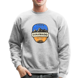 Colorado Is Calling - Crewneck Sweatshirt - heather gray