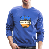 Colorado Is Calling - Crewneck Sweatshirt - royal blue