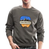 Colorado Is Calling - Crewneck Sweatshirt - asphalt gray
