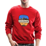 Colorado Is Calling - Crewneck Sweatshirt - red
