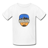 Colorado Is Calling -  Youth Tagless T-Shirt - white