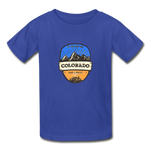 Colorado Is Calling -  Youth Tagless T-Shirt - royal blue