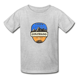 Colorado Is Calling -  Youth Tagless T-Shirt - heather gray