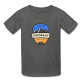Colorado Is Calling -  Youth Tagless T-Shirt - charcoal