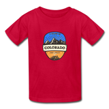 Colorado Is Calling -  Youth Tagless T-Shirt - red