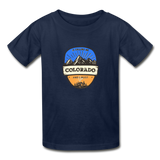 Colorado Is Calling -  Youth Tagless T-Shirt - navy