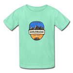 Colorado Is Calling -  Youth Tagless T-Shirt - deep mint