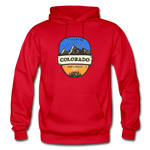 Colorado Is Calling - Heavy Blend Adult Hoodie - red