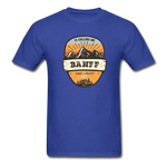 Banff Is Calling - Adult Tagless T-Shirt - royal blue