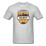 Banff Is Calling - Adult Tagless T-Shirt - heather gray