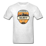 Banff Is Calling - Adult Tagless T-Shirt - light heather gray