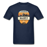 Banff Is Calling - Adult Tagless T-Shirt - navy