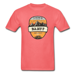 Banff Is Calling - Adult Tagless T-Shirt - coral