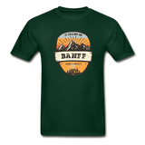 Banff Is Calling - Adult Tagless T-Shirt - forest green