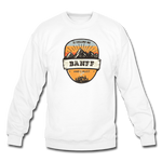 Banff Is Calling - Crewneck Sweatshirt - white