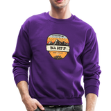 Banff Is Calling - Crewneck Sweatshirt - purple