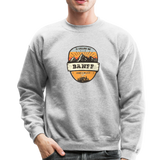 Banff Is Calling - Crewneck Sweatshirt - heather gray