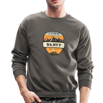 Banff Is Calling - Crewneck Sweatshirt - asphalt gray