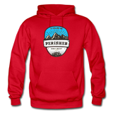 Perisher Is Calling - Heavy Blend Adult Hoodie - red