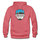 Perisher Is Calling - Heavy Blend Adult Hoodie - heather red