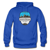 Perisher Is Calling - Heavy Blend Adult Hoodie - royal blue