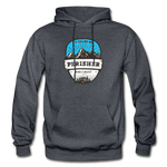 Perisher Is Calling - Heavy Blend Adult Hoodie - charcoal gray