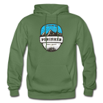 Perisher Is Calling - Heavy Blend Adult Hoodie - military green