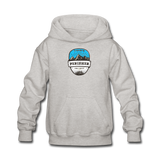 Perisher Is Calling - Kids' Hoodie - heather gray