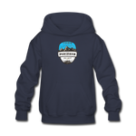 Perisher Is Calling - Kids' Hoodie - navy