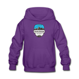 Perisher Is Calling - Kids' Hoodie - purple