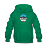 Perisher Is Calling - Kids' Hoodie - kelly green