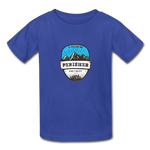 Perisher Is Calling - Youth Tagless T-Shirt - royal blue