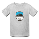 Perisher Is Calling - Youth Tagless T-Shirt - heather gray