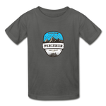 Perisher Is Calling - Youth Tagless T-Shirt - charcoal