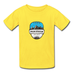 Perisher Is Calling - Youth Tagless T-Shirt - yellow