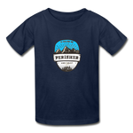 Perisher Is Calling - Youth Tagless T-Shirt - navy