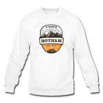 Hotham Is Calling - Crewneck Sweatshirt - white